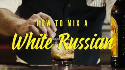 How to mix a perfect White Russian